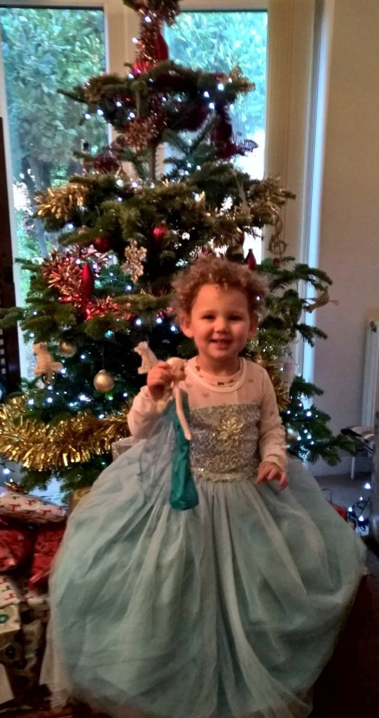 Christmas Tree 2018 with Isobel